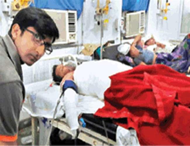 अलीगढ़ में आत्मदाह का प्रयास करने वाले एएमयू के छात्र की मौत