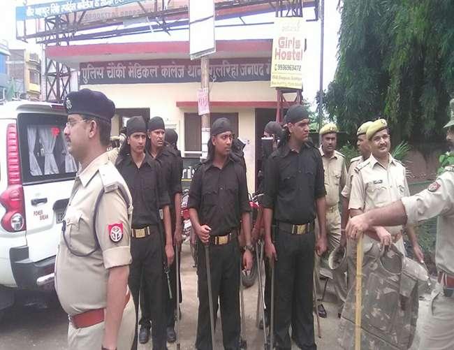 गोरखपुर मेडिकल कालेज छावनी में तब्दील, विपक्ष आज करेगा प्रदर्शन