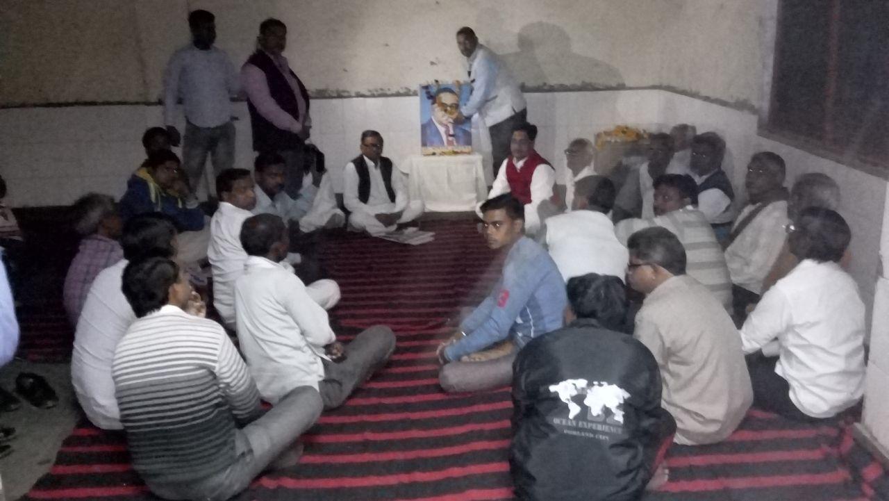 अलीगढ:--स्वतंत्रत जनताराज पार्टी ने सराय गढ़ी में एक गोष्टि का आयोजन किया गया।