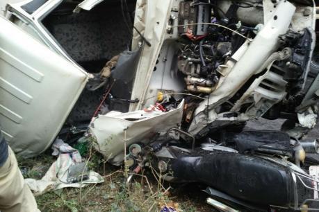 रायबरेली के लालगंज निहस्था मार्ग पर सडक दुर्घटना मे महिला की मौत रायबरेली