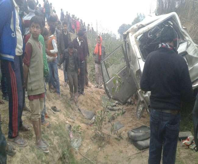 फतेहपुर जिले मे ट्रक की टक्कर से भाई बहेन की मौत परिवारिक चाचा घायल पवन द्रिवेदी