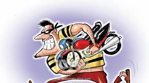 फतेहपुर मे दो बाइक 35  मोबाइल सेट तथा नगदी के साथ चार शातिर चोर गिरफ्तार