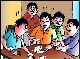 फतेहपुर जिले के मलवां थाना के वाहिदपुर गॉव में जुवाडियो को नही है पुलिस का ख़ौफ़