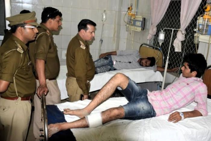 प्रतापगढ़  जिले के रानीगंज थाना क्षेत्र मे पुलिस मुठभेड़ में दो बदमाश घायल