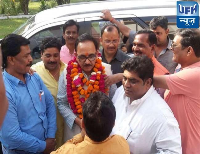 सपा- बसपा के चुनावी समन्वय के बाद भाजपा का कैडर मजबूती पर जोर: पांडेय