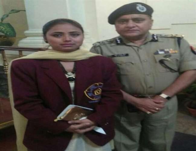 उत्तर प्रदेश पुलिस ने बहादुर नाजिया को बनाया विशेष पुलिस अधिकारी