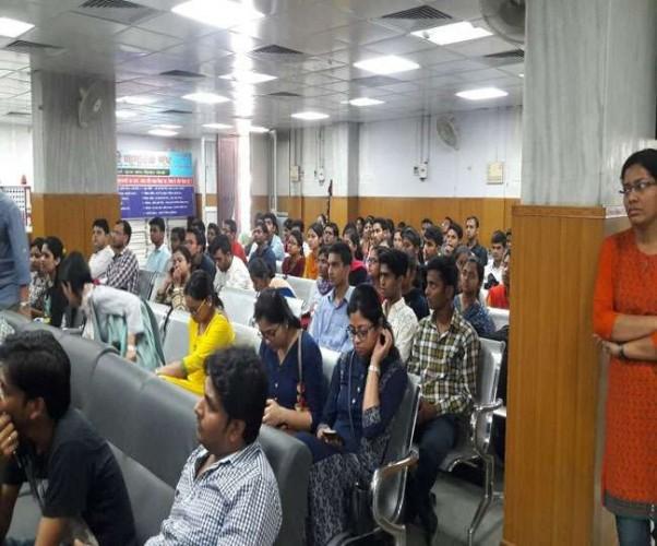 बीएचयू के सर सुंदरलाल अस्पताल में जेआर का आंशिक हड़ताल जारी