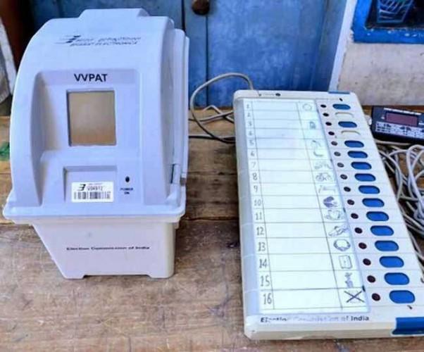 मध्य प्रदेश मे हर पर्ची में भाजपा को मिल रहा था वोट, कलेक्टर के खिलाफ कार्रवाई