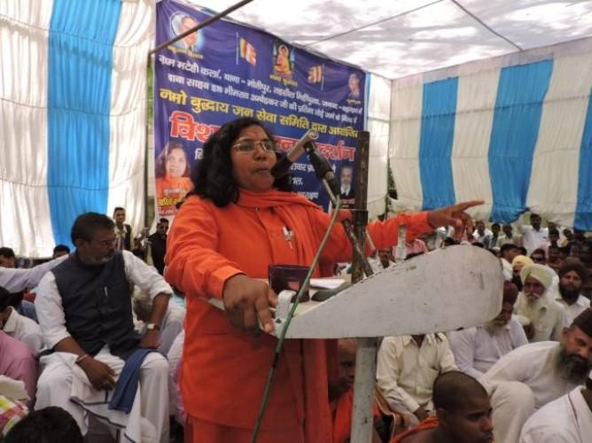 बहराइच भाजपा सांसद सावित्री बाई फुले ने कहा अनुसूचित व पिछड़े जाति के सांसदों की संसद में दबा दी जाती है आवाज