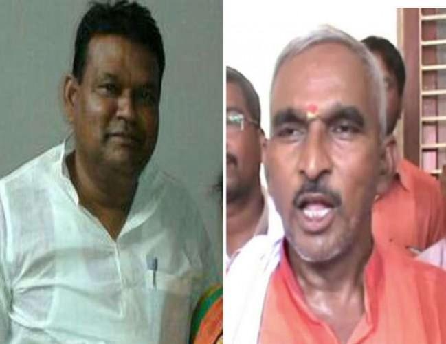 बलिया के BJP विधायक सुरेन्द्र सिंह का  विवादित बयान अधिकारियों से बेहतर हैं वेश्याएं