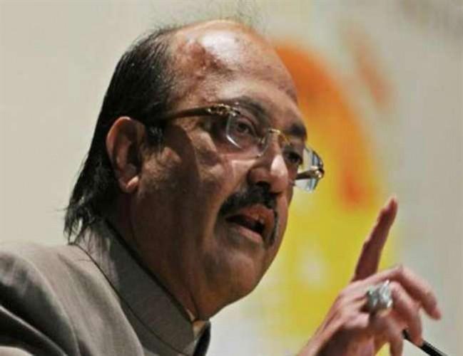 सांसद अमर सिंह की राय, RSS से सीखें राजनीतिक दल