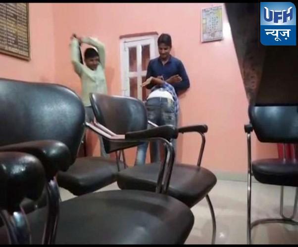 हमीरपुर जेल की घटना अधीक्षक कार्यालय में कैदियों को मुर्गा बनाकर पट्टे से पीटा