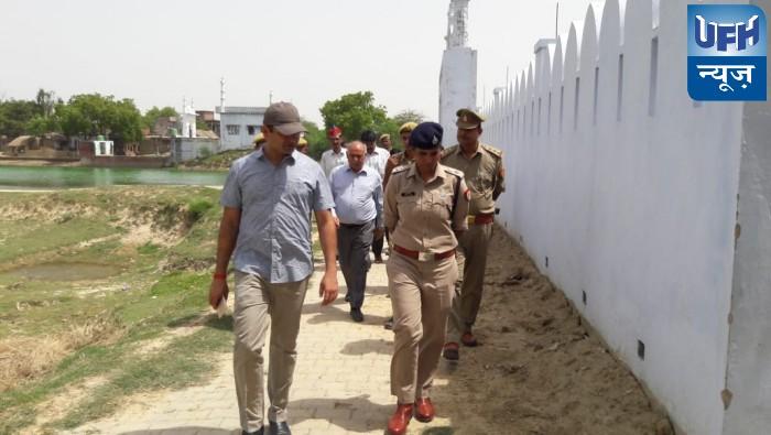 रायबरेली डीएम व एसपी ने परशदेपुर व नसीराबाद के ईदगाह का किया निरीक्षण