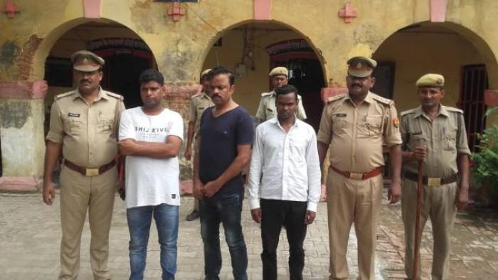 जौनपुर में युवती ने कारोबारी का किया अपहरण, अन्य आरोपियों संग हुई गिरफ्तार