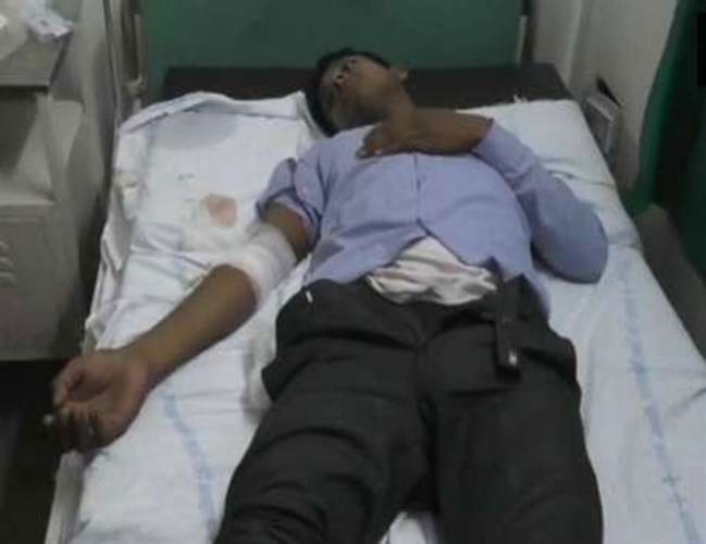 जिला अलीगढ़ में पुलिस मुठभेड़ में 25-25 हजार के दो ईनामी बदमाश गिरफ्तार