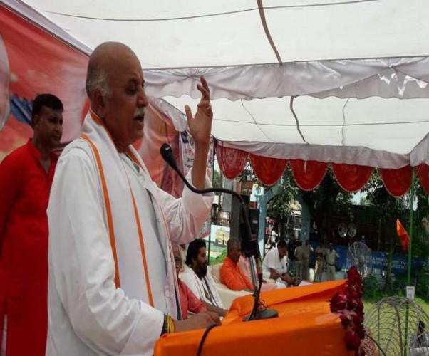 प्रवीण तोगड़िया का बयान श्री राम के सहारे सत्ता हासिल करने वाले राम मंदिर को भूले