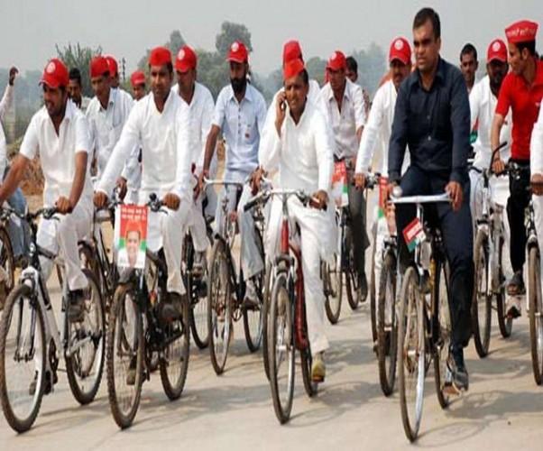 आज समाजवादी साइकिल यात्रा सैफई से दिल्ली की ओर करेगी कूच