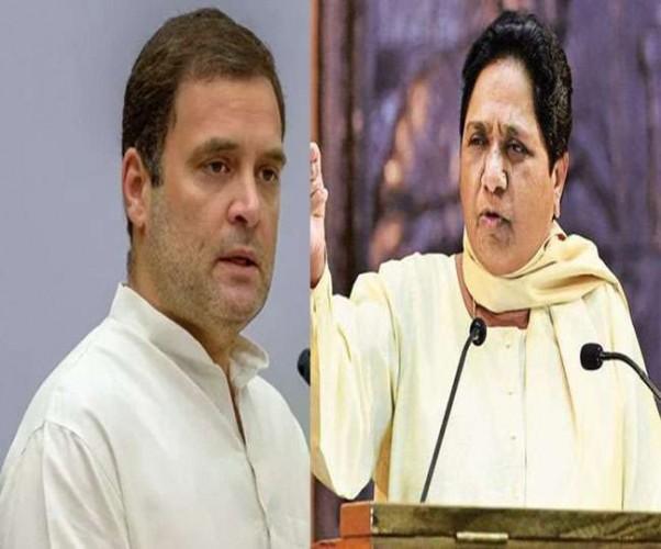 राहुल गांधी ने कहा कि मायावती का कांग्रेस से गठबंधन ना करने के फैसले से मध्य प्रदेश में हमें कोई फर्क नहीं पड़ेगा