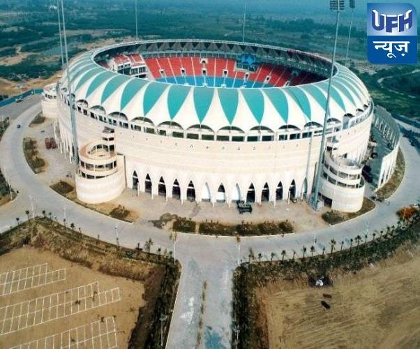 सपा ने इकाना स्टेडियम पर अटल बिहारी का नाम चस्पा करने पर जताया एतराज