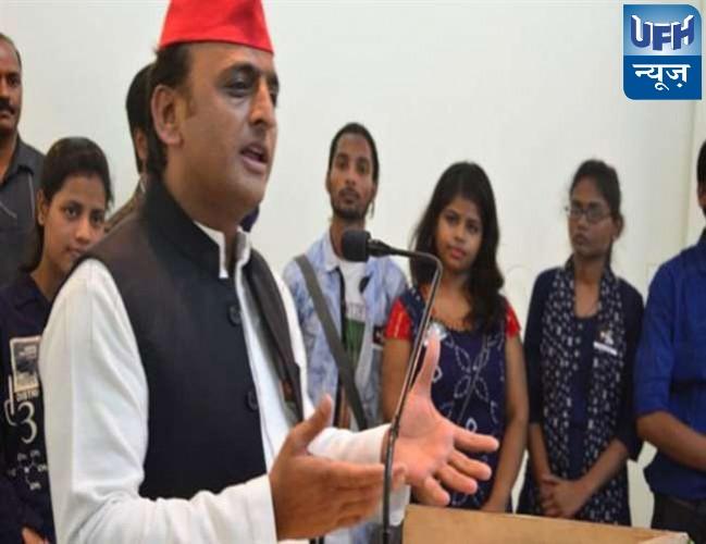 अखिलेश यादव ने कहा यूपी में सपा सरकार आने पर अटलजी के गांव बटेश्वर विकास के लिए 300 करोड़