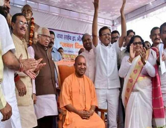 अब दलितों को लुभाने के लिए भाजपा ने उत्तर प्रदेश में बनाया बड़ा समीकरण