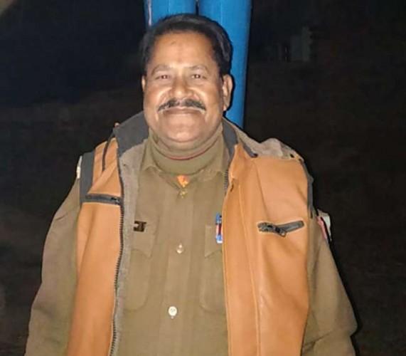 जनपद अलीगढ़ के थाने में तैनात इटावा के दारोगा की हार्टअटैक से मौत
