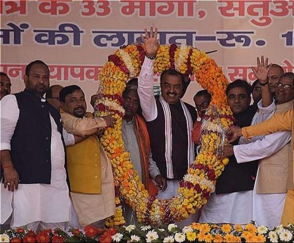 उपमुख्यमंत्री केशव प्रसाद मौर्य ने कहा रामलला की जन्मभूमि पर भगवान राम का मंदिर ही बनेगा