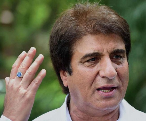 राजबब्बर ने कहा चुनाव नतीजों में भाजपा को पड़ी बजरंगबली की गदा की मार