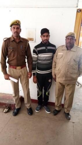 भरुआ सुमेरपुर पुलिस ने युवती को अपह्त करने वाला को  गिरफ्तार किया