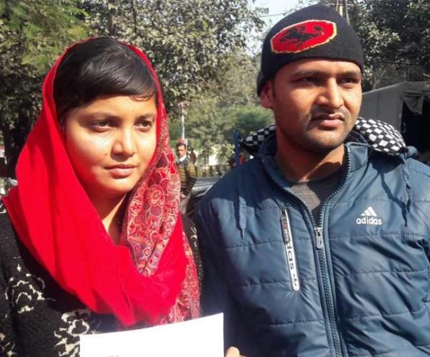 मेरठ मे माहिरा सिद्दीकी ने धर्म परिवर्तन कर हिंदू युवक से की शादी, परिजनों से जान का खतरा