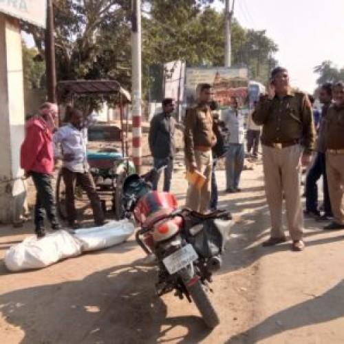 ठंड से ठिठुर कर रिक्शा चालक की मौत
