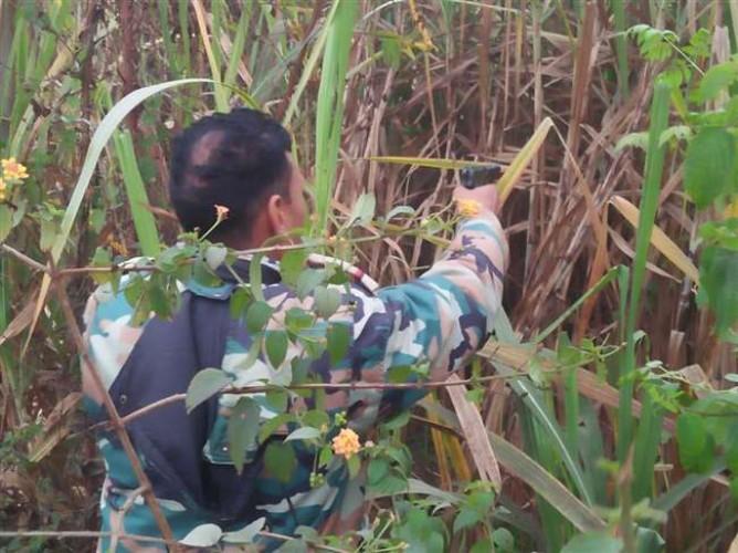 असमोली क्षेत्र में मुंह से 'ठांय-ठांय' करने वाले दारोगा घायल, बदमाशों ने मारी गोली