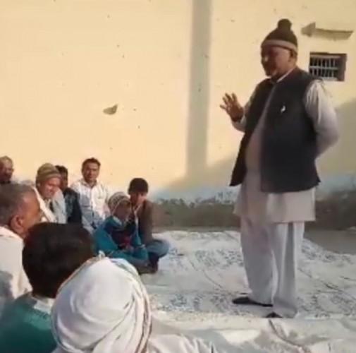 मथुरा जनपतद में 6 जनवरी को मोरकी मैदान पर किसान भरेंगे हुंकार