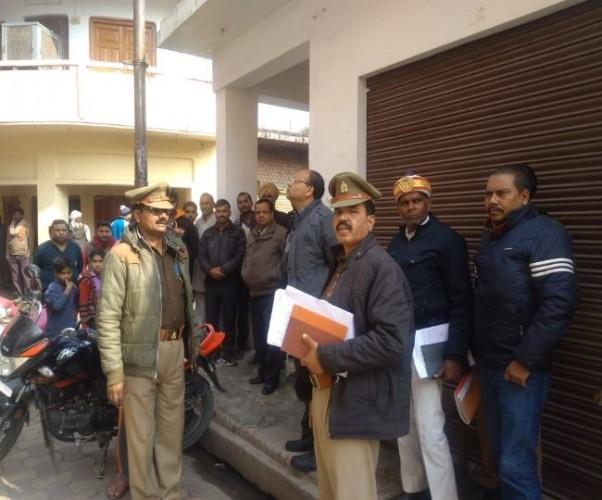 सीतापुर मे व्यवसायी से मांगी 20 लाख की रंगदारी, डराने के लिए घर के बाहर रखा बम