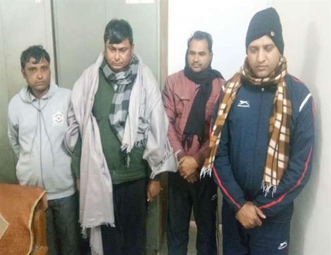 एसटीएफ टीम ने नलकूप चालक भर्ती परीक्षा में मेरठ के प्रिंसिपल सहित पांच गिरफ्तार