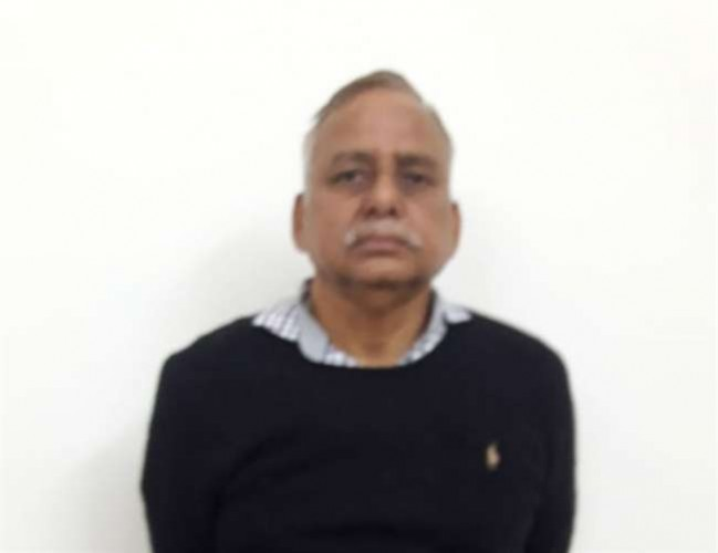 फरार पूर्व सांसद जवाहर जायसवाल बैंक कर्मी की हत्या के मामले में मध्य प्रदेश से गिरफ्तार