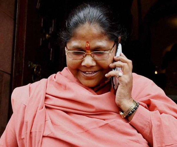 केंद्रीय मंत्री साध्वी निरंजन भाजपा की चुनाव संचालन समिति में