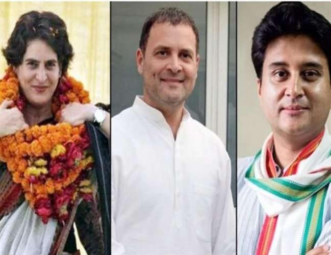 लखनऊ मे 11 को राहुल गांधी के साथ आएंगे प्रियंका गांधी व ज्योतिरादित्य सिंधिया