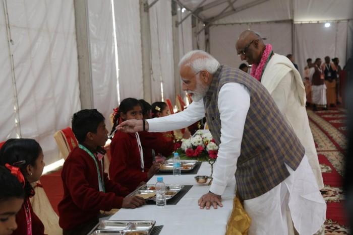 शक्तिशाली नये भारत के लिए पोषित व स्वस्थ बच्चों का होना बहुत जरूरी:-प्रधानमंत्री नरेंद्र मोदी