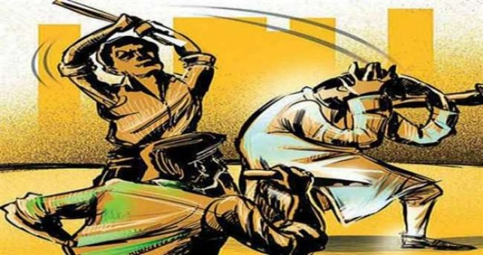 जिला बांदा में जमीन बंटवारे के विवाद में बेटे ने लाठी मारकर पिता की हत्या की