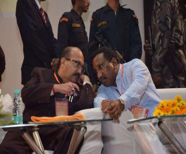 कानपुर मे राज्यसभा सदस्य अमर सिंह ने कहा- आरएसएस ने मुझे अपना ऋणी कर दिया
