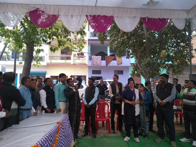 कानपुर में लार्ड बुद्ध समिति ने किया संत रविदास जयंती का जन्मोत्सव समारोह