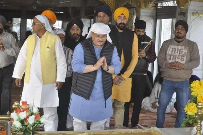 कांग्रेस किसानों की कर्ज माफी के नाम पर कर रही है राजनीति : केंद्रीय मंत्री जेपी नड्डा