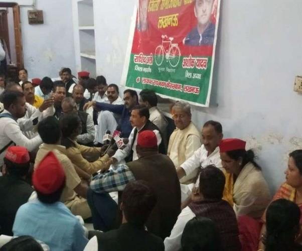 मोहनलालगंज क्षेत्र में बसपा के चुनाव चिन्ह का प्रचार करेंगे सपा कार्यकर्ता