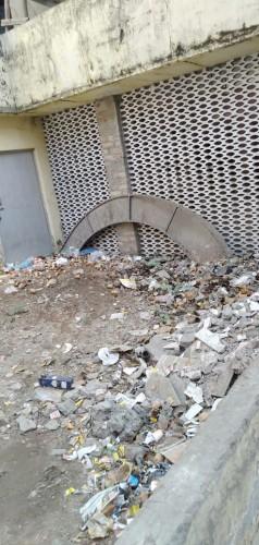 तहसील मोहनलालगंज में स्वच्छ भारत अभियान की धज्जियां उड़ा रहा है तहसील प्रशासन