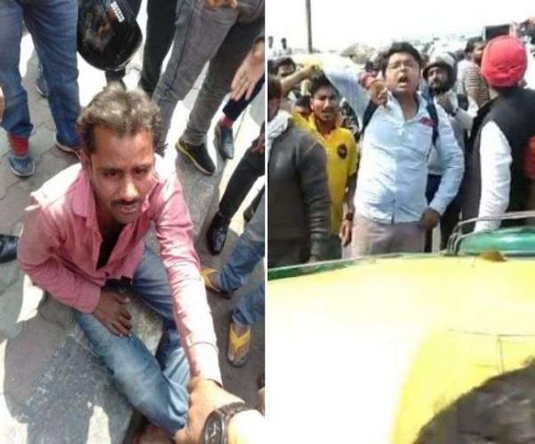 राजधानी लखनऊ मे चलती ऑटो से युवती ने लगाई छलांग, लोगों ने चालक का किया ऐसा हाल