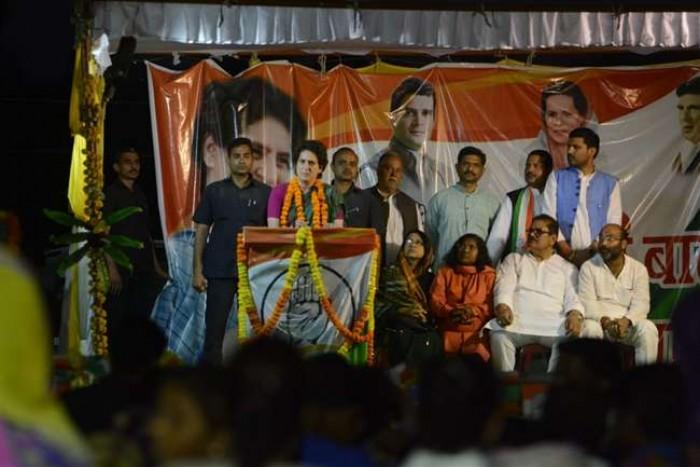 प्रियंका गांधी ने कहा ये चुनाव जनता के लिए चुनौती है, राहुल को सत्ता का शौक नहीं