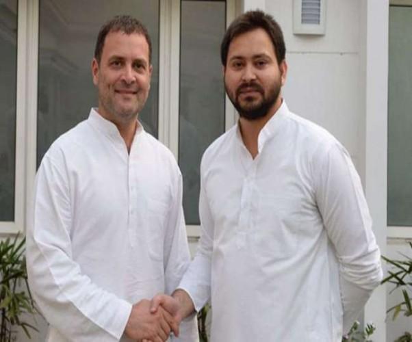 बिहार में टूट की कगार पर महागठबंधन, बेनतीजा रही राहुल-तेजस्वी की मुलाकात