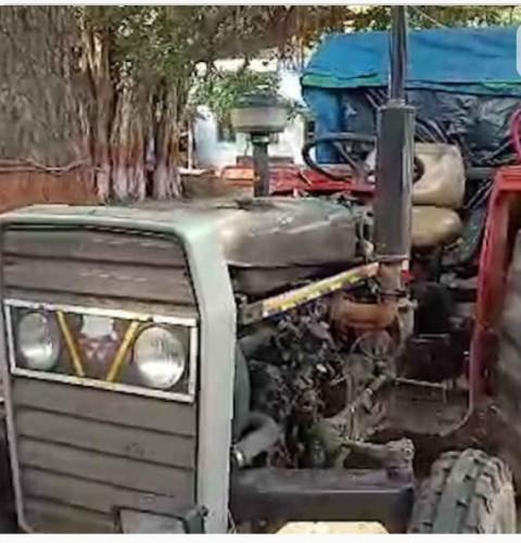 मथुरा के टेंटीग्राम में लूटे ट्रैक्टर को पुलिस ने चंद घंटे में बरामद किया