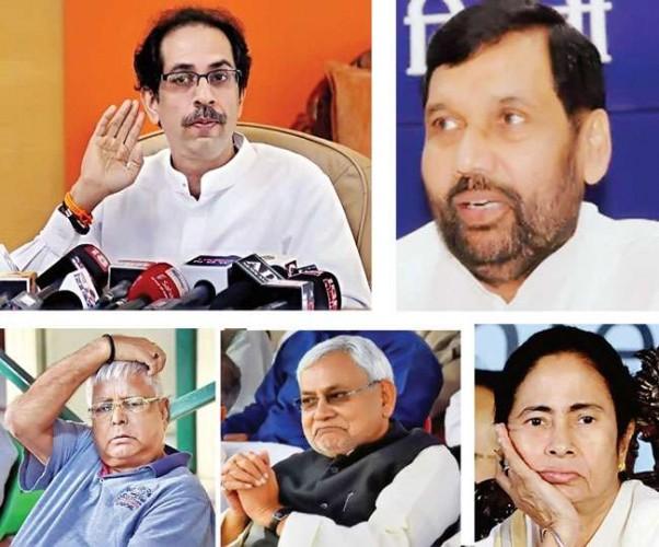 UP में अपने पैर जमाने में बेदम रहे प्रवासी राजनीतिक दल